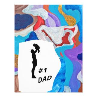Key #1 Dad Letterhead