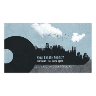 Key and City Buildings - Real Estate Business Card