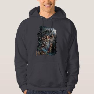 Key Art Hooded Pullovers