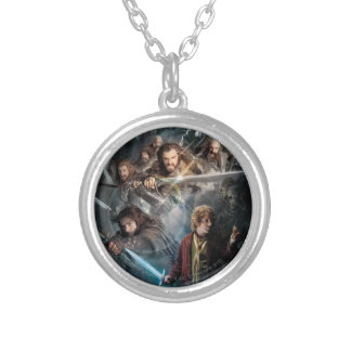 Key Art Silver Plated Necklace