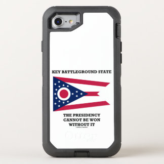 Key Battleground State Presidency Ohio State Flag OtterBox Defender iPhone 8/7 Case