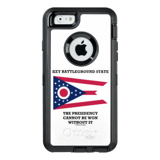 Key Battleground State Presidency Ohio State Flag OtterBox Defender iPhone Case