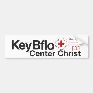 Key Bflo Center Christ #BornAgainBflo Bumper Sticker
