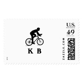 Key Biscayne City Cycling Acronym KB Postage