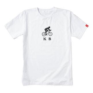 Key Biscayne City Cycling Acronym KB Zazzle HEART T-Shirt