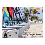 Key Biscayne, Florida Postcard