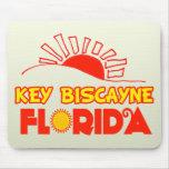 Key Biscayne, la Florida Alfombrillas De Ratón