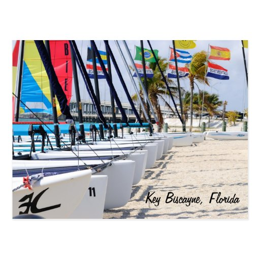 Key Biscayne, la Florida Tarjeta Postal