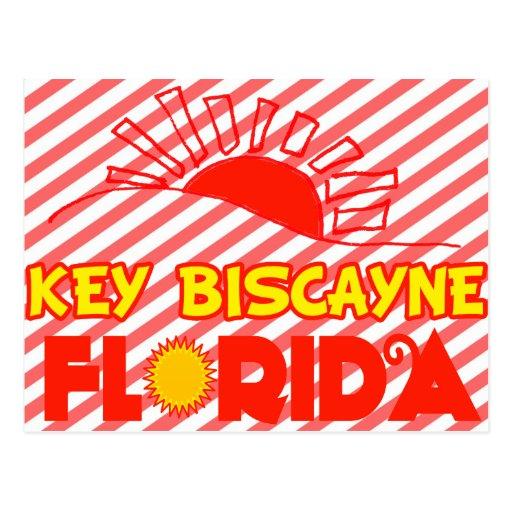 Key Biscayne, la Florida Tarjetas Postales