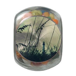 Key Biscayne Light 3 Jelly Belly Candy Jar