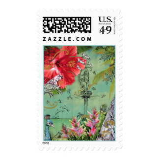Key Biscayne, Postage Stamp