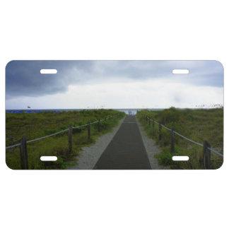 Key Biscayne Storm License Plate