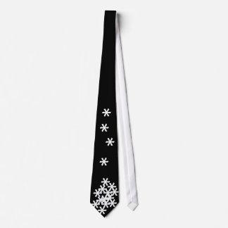 Key Bored Snowstorm Neck Tie