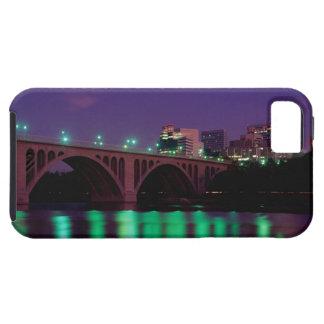 Key Bridge crossing the Potomac River iPhone 5 Covers