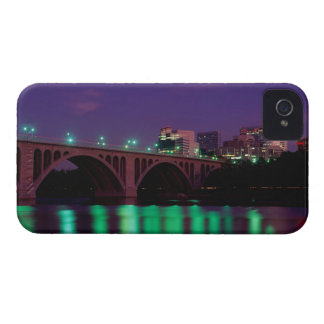Key Bridge crossing the Potomac River iPhone 4 Case-Mate Case