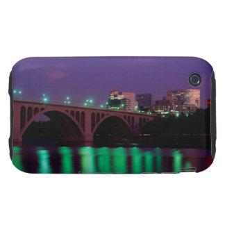 Key Bridge crossing the Potomac River iPhone 3 Tough Covers