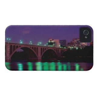 Key Bridge crossing the Potomac River iPhone 4 Cover
