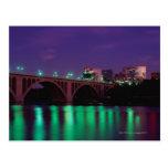 Key Bridge crossing the Potomac River Postcards