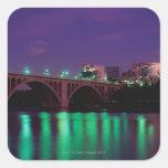 Key Bridge crossing the Potomac River Stickers