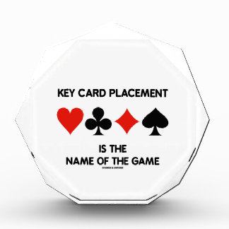 Key Card Placement Is The Name Of The Game Bridge Awards