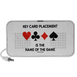 Key Card Placement Is The Name Of The Game Bridge Travel Speakers