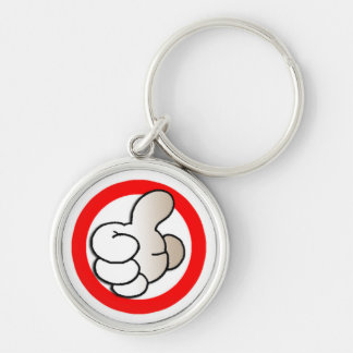 key chain-02.gif Silver-Colored round keychain