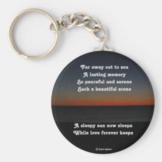 Key Chain A Sleepy Sun Sleeps Poem By Ladee Basset
