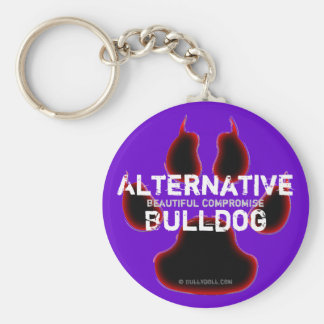 Key chain alternative Bulldog
