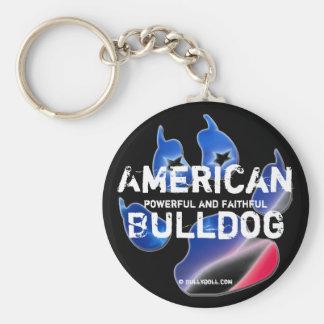 Key chain American Bulldog