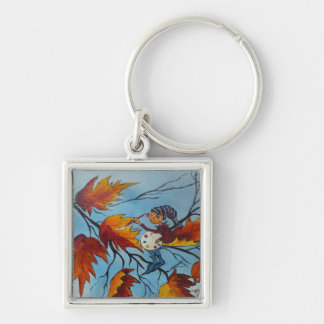 Key Chain Ann Hayes Painting Pixie Painting