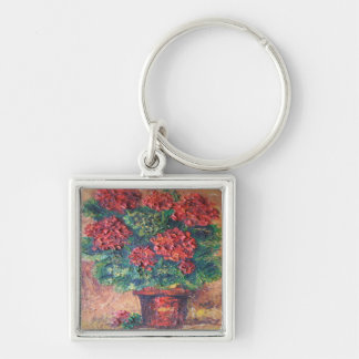 Key Chain Ann Hayes Painting Red Beauty
