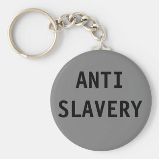 Key Chain Anti Slavery Grey