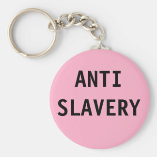 Key Chain Anti Slavery  Pink