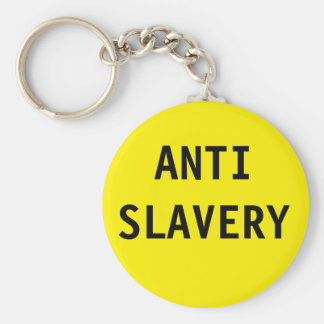 Key Chain Anti Slavery Yellow