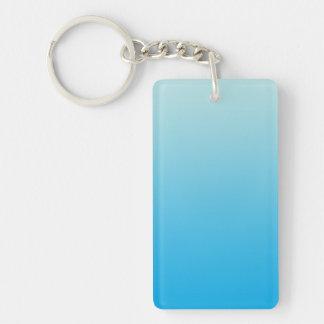 Key Chain: AQUA BLUE OMBRE Keychain