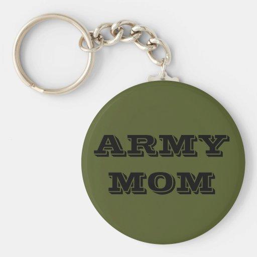 Key Chain Army Mom