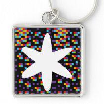 key chain asterisco