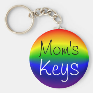 Key Chain - Basic - Spherical Rainbow