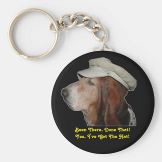 Key Chain Basset Hound Been There, Done That