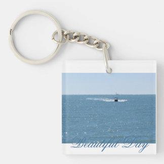 Key Chain. Beautiful Day Keychain