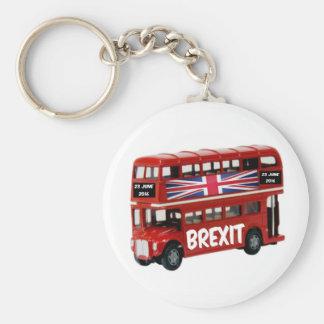 Key Chain Brexit Bus