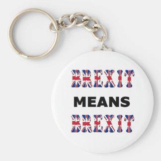 Key Chain Brexit Means Brexit