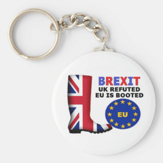 Key Chain Brexit UK Refuted EU is Booted