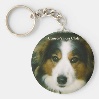 Key Chain Caesar's Fan Club