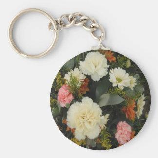 Key Chain Carnation Bouquet