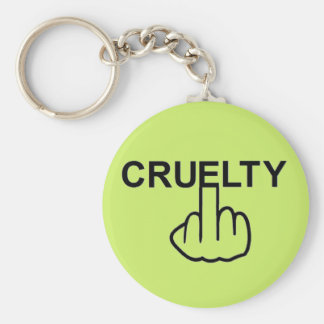 Key Chain Cruelty Is Cruel