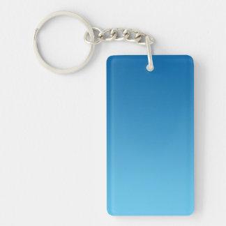 Key Chain: DARK BLUE OMBRE Keychain