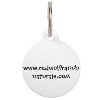 Key Chain; Dog Tag with editable back