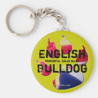 Key chain English Bulldog