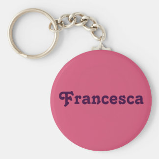 Key Chain Francesca